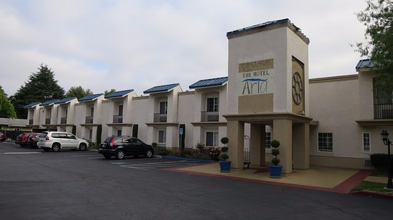 Hotel aria mountain view californie voir les tarifs for Motel bas prix