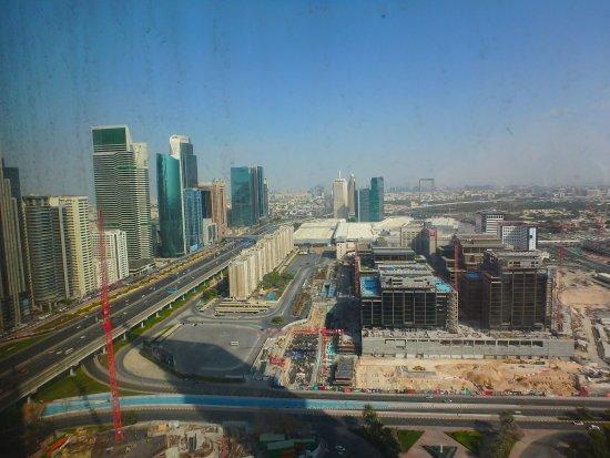 Jumeirah Emirates Towers: vue de la chambre