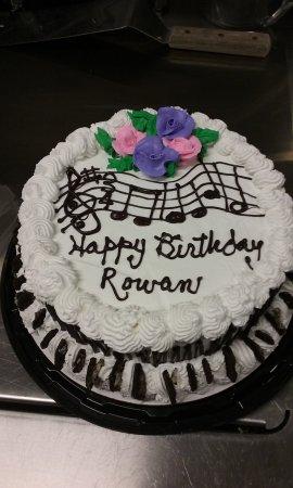 Awe Inspiring Happy Birthday Special Order Cake Picture Of Herrells Ice Cream Personalised Birthday Cards Veneteletsinfo