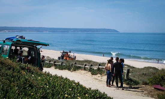 Costa da Caparica, Portugal: Geckosurfschool, surf lessons