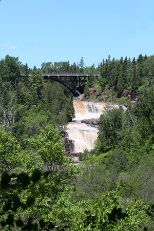 Two Harbors, MN: Middle and Lower Falls