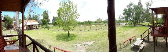 Villa Paranacito, Argentina: Vista desde el deck de la cabaña