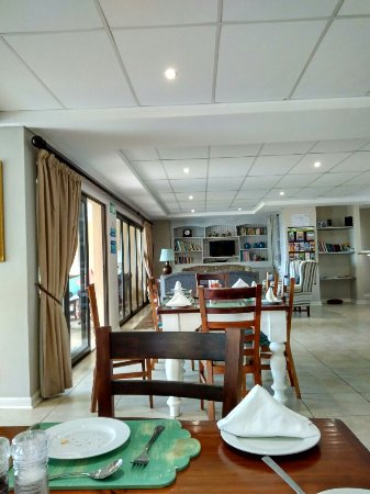 Shaka's Rock, جنوب أفريقيا: Dining Area