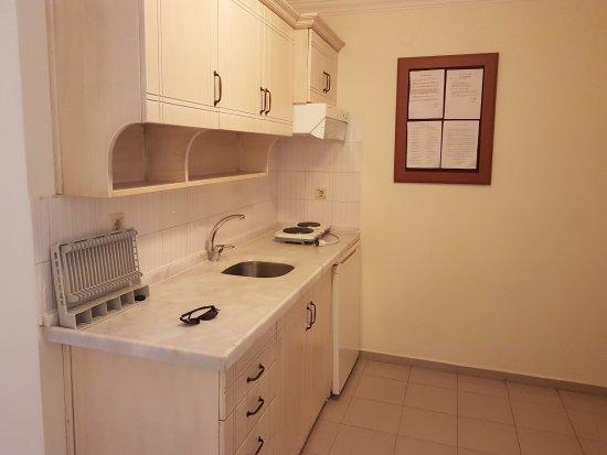 Sahin Palace Apartments: Kitchen area.....has all you'll need