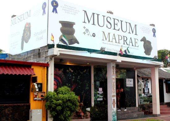 Santa Cruz, Ecuador: Museo ingresso
