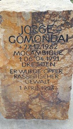 Gedenkstein Jorge Gomondai