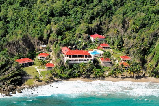 Petite Anse Beachfront Hotel & Restaurant Grenada: We are set in lush tropical gardens in the unspoilt north coast of Grenada.