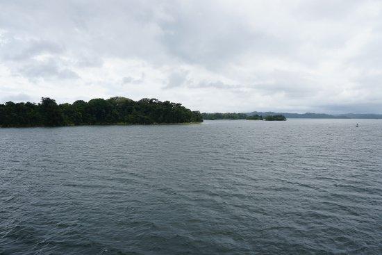 Gatun Lake: Islands in the lake
