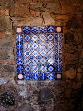 Museo de Azulejos: Um dos painéis no interior do Museu