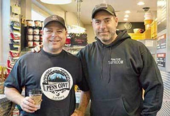 Coupeville, WA: Owners, Mitch and Marc, are brothers in crime, building their dream; a hometown craft brewery.