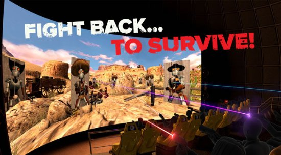 Dark Ride: Battle with Robot Cowboys