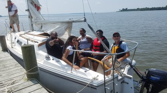 Rock Hall, MD: A group sail in July