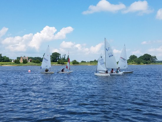 Rock Hall, MD: An intermediate class sailing