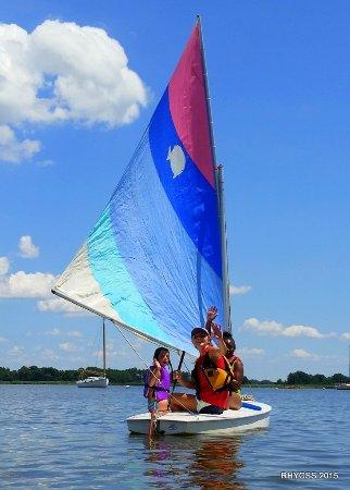 Rock Hall Yacht Club Sailing School: Sunfish sailing rides