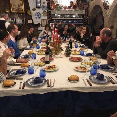 Villa del Prado, Hiszpania: Cena de amigos