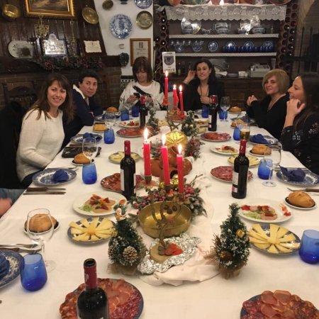 Villa del Prado, Испания: Cena de amigos