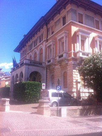Gargnano, Italia: facciata