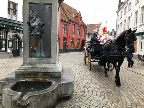 Horse Head Drinking Fountain - Bruges