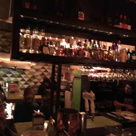 Cactus: New bar area, same great food. Fun New Years Eve drop in place - eat great food, good drinks & r