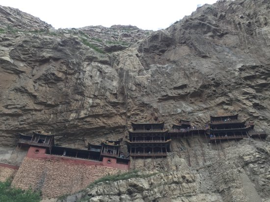 Hengshan Hanging Temple (Xuankong si) : Hanging Temple of Hengshan