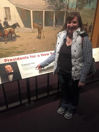 Bullock Texas State History Museum: Found our relative