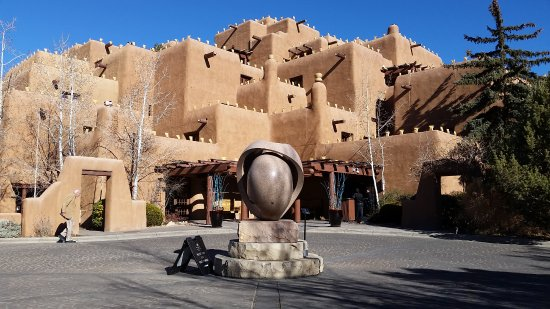 Inn and Spa at Loretto: One of the most photographed facades in New Mexico