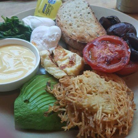 Page 27 Cafe: Vegie breakfast