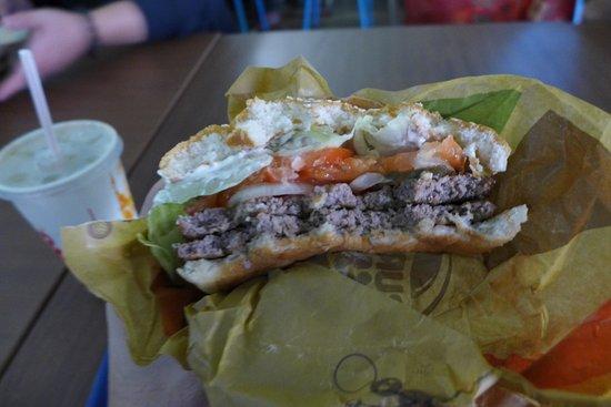 Burger King: Double whopper