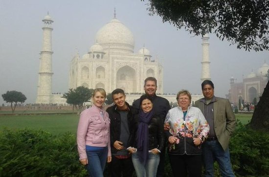 Full-day Private Taj Mahal and Agra...
