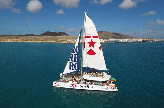 Full-Day La Graciosa Catamaran Cruise...