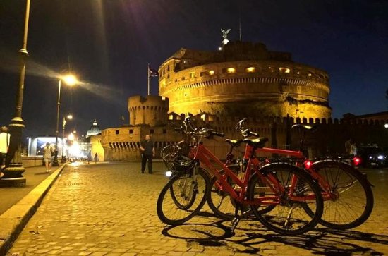 2-Hour Rome by Night Bike Tour with