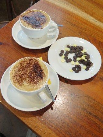 Metricup, Australia: Our cappuccinos