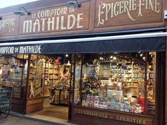 Le comptoir de mathilde paris all you need to know - Le comptoir de l arc paris ...