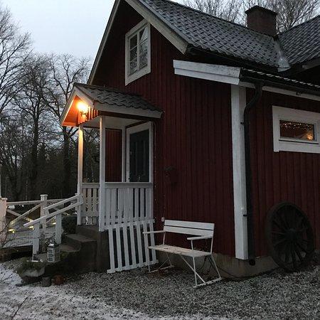 Filipstad, Suecia: Vraiment magnifique. L'accueil était très sympathique. La chambre était comme dans un magasine d