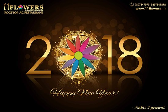 11 Flowers Rooftop U0026 AC Restaurant: Happy New Year 2018