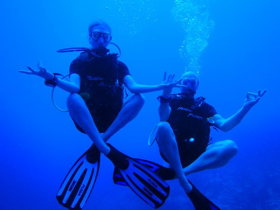 Maldives Passions: Nice current dive