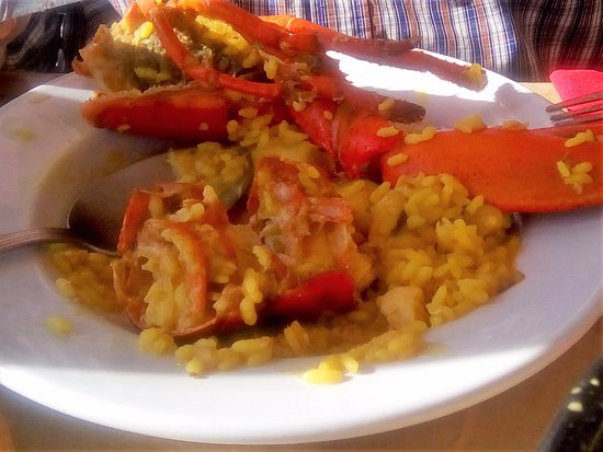Alcalalí, España: de (flinke)kreeft bij Casa Pinet