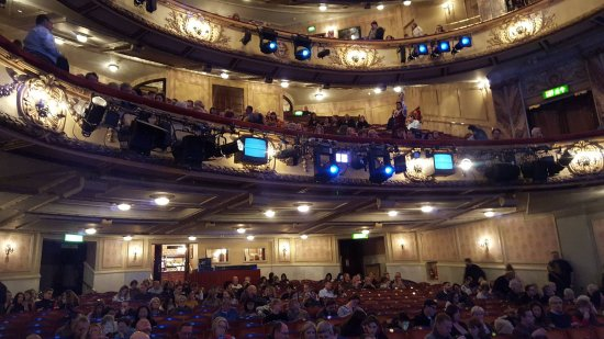 The novello theater picture of novello theatre london for Balcony novello theatre
