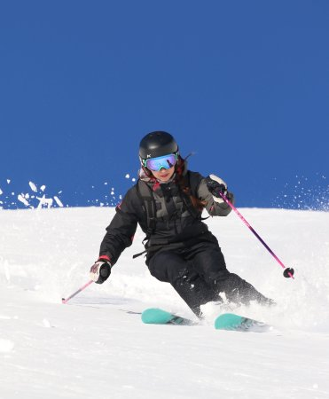 Whistler Heli-Skiing: Daughter