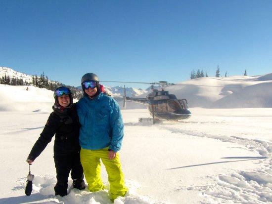 Whistler Heli-Skiing: Taxi!