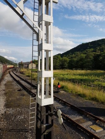 North Yorkshire Moors Railway: The little stations on the moors are lovely