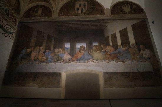 Santa Maria delle Grazie: The last supper