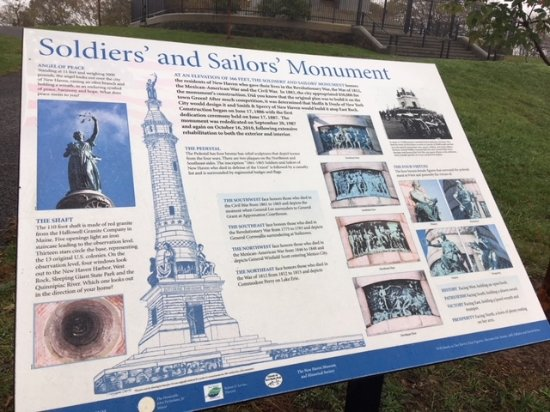 East Rock Park: Soldiers' and Sailors' Monument