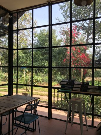 Indigo Farm: In Door Glass House Cafe
