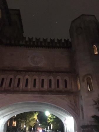 Yale University: Arch we drove under.