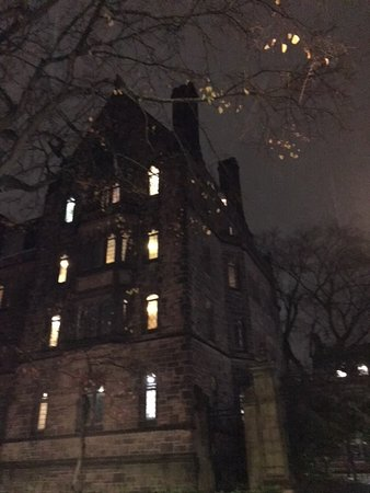 Yale University: This building looked like a haunted house.