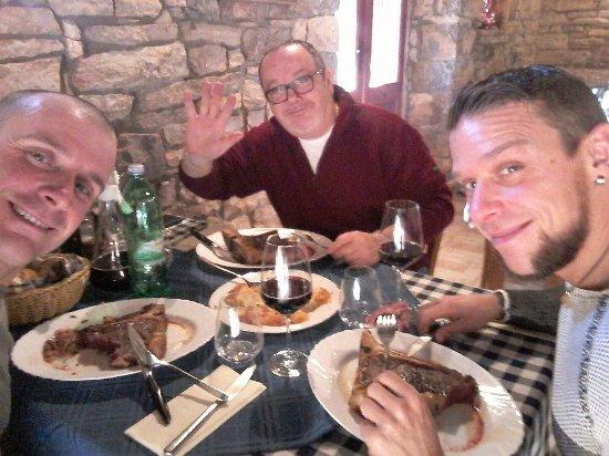 Oprtalj, Croacia: carne ottima come sempre