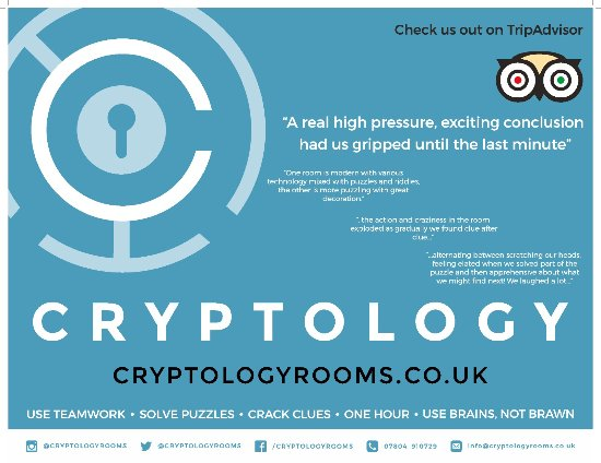 Cryptology Escape Rooms Barnsley