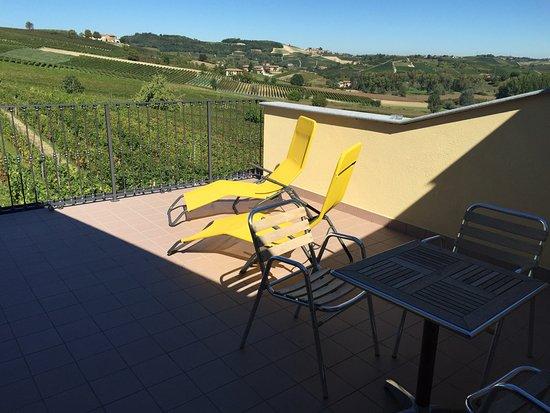"""Tenuta dei Fiori: private terrace from room """"cinquefile"""""""