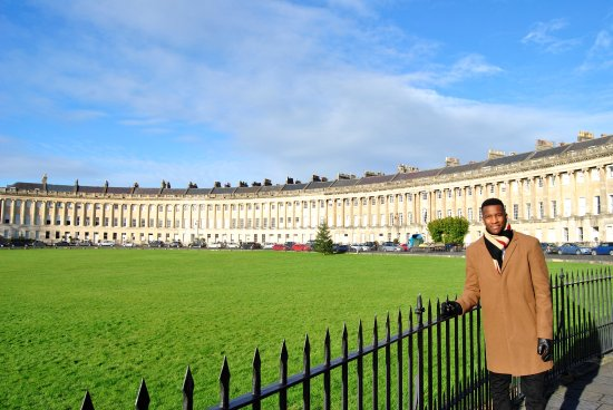 Paradise House B&B: The royal crescent, a must see.